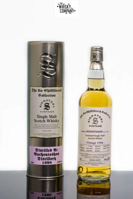Auchentoshan 1998 Aged 17 Years Single Malt Scotch Whisky - Signatory Vintage (700ml)