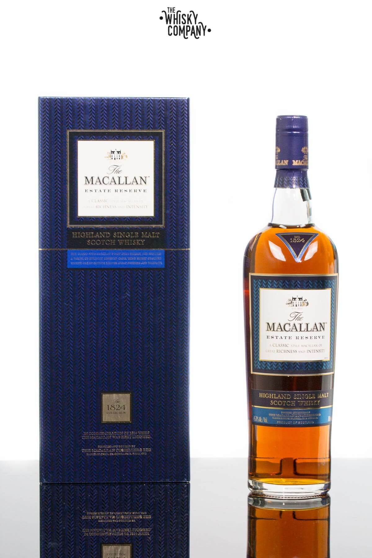 The Macallan Estate Reserve 1824 Collection Highland Single Malt Scotch Whisky