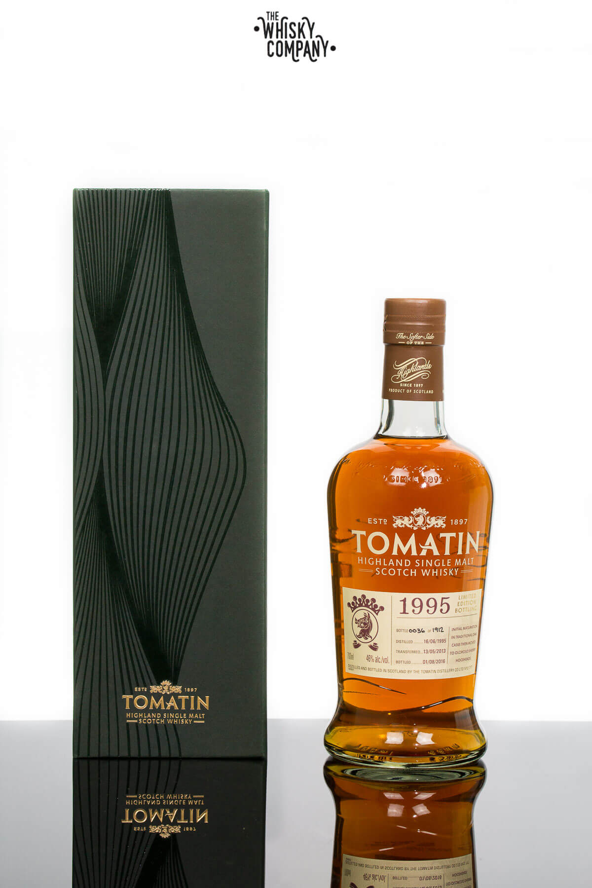 Tomatin 1995 Vintage 21 Years Old Highland Single Malt Scotch Whisky