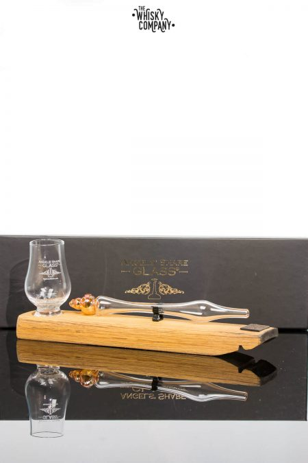 Angels' Share Whisky Dropper Set with mini Glencairn Glass