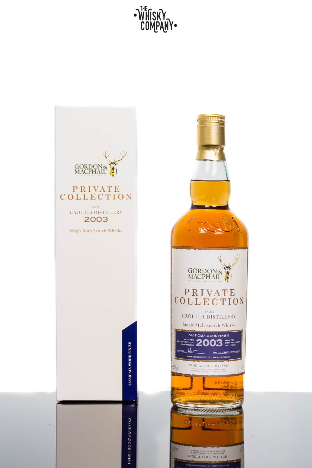 Gordon & MacPhail 2003 Caol Ila Sassicaia Wood Islay Single Malt Scotch Whisky (700ml)