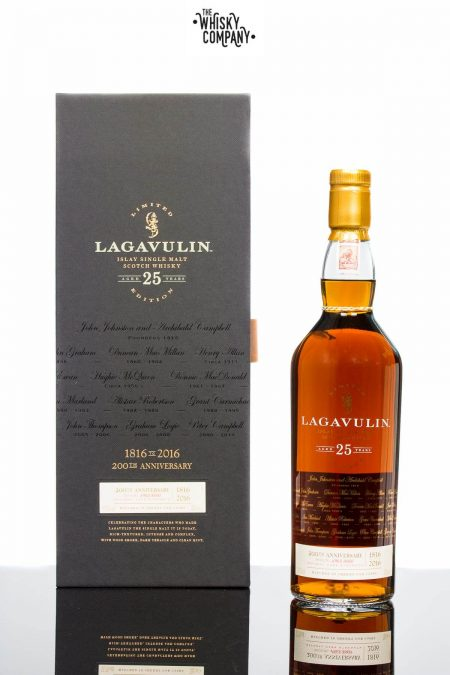 Lagavulin Aged 25 Years 200th Anniversary Edition Islay Single Malt Scotch Whisky