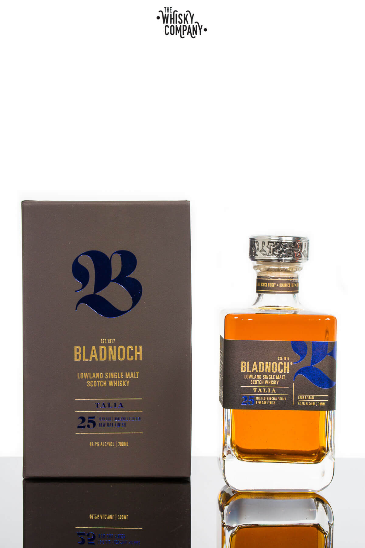Bladnoch Talia 25 Years Old Lowland Single Malt Scotch Whisky (700ml)