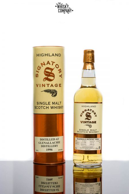 Glenallachie 1996 Aged 19 Years Single Malt Scotch Whisky - Signatory Vintage (700ml)