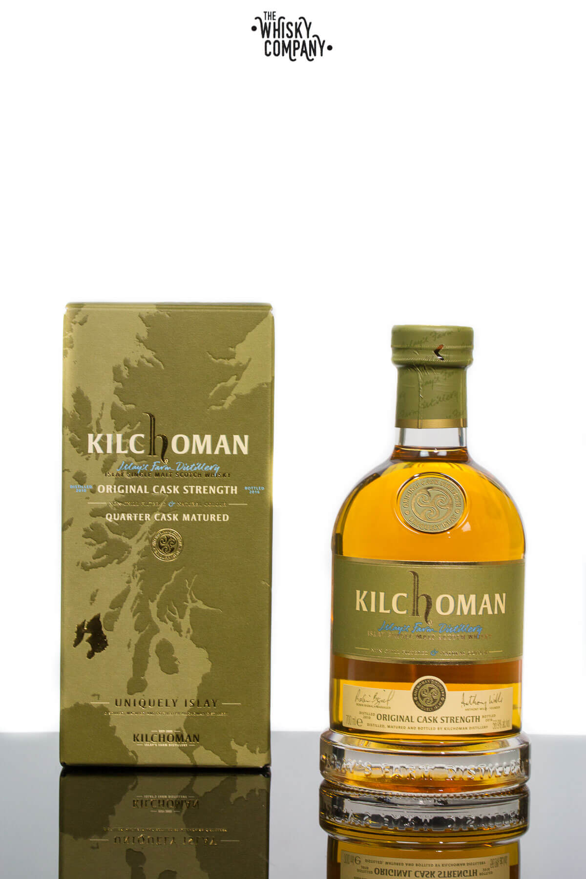 Kilchoman Original Cask Strength Quarter Cask Islay Single Malt Scotch Whisky (700ml)