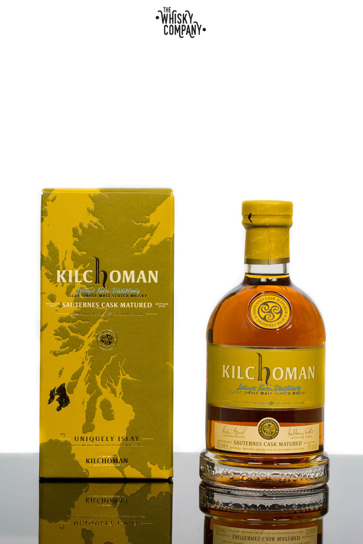 Kilchoman 2011 Sauternes Cask Matured Islay Single Malt Scotch Whisky