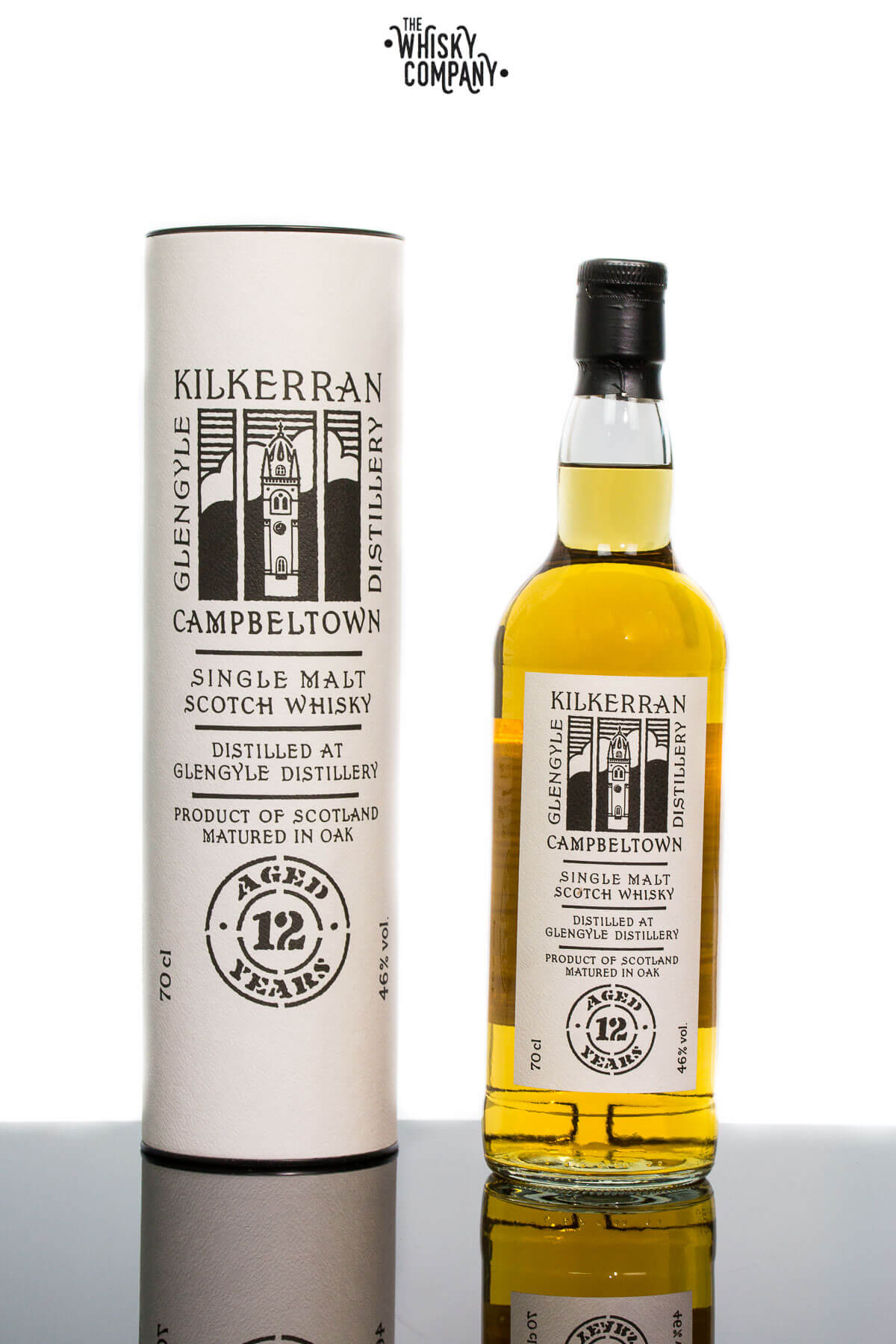 Kilkerran Aged 12 Years Campbeltown Single Malt Scotch Whisky