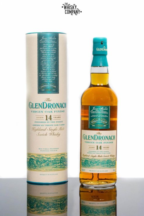 GlenDronach 14 Years Old Virgin Oak Finish Highland Single Malt Scotch Whisky (700ml)