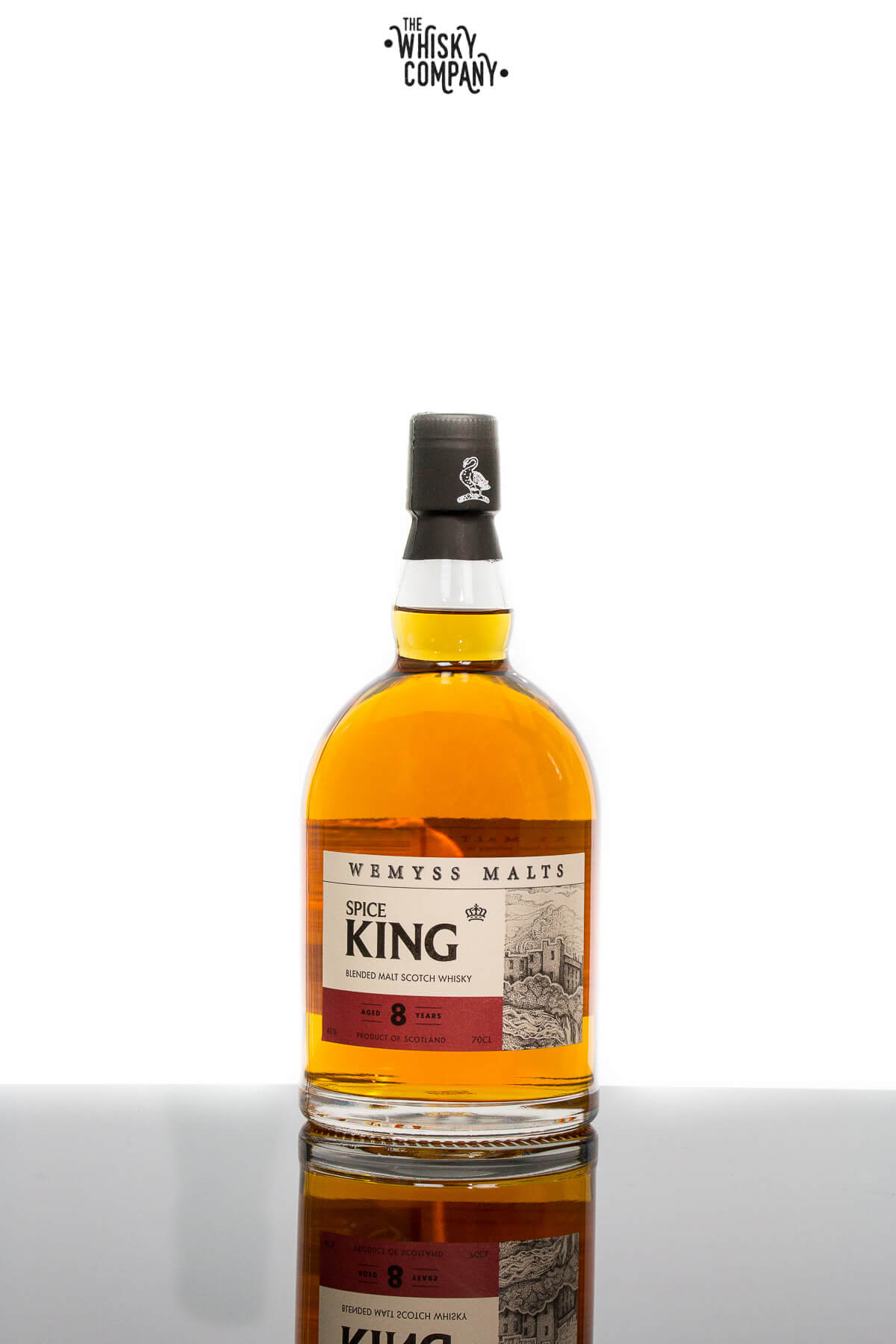 Wemyss Malts Spice King Blended Malt Scotch Whisky Aged 8 Years (700ml)