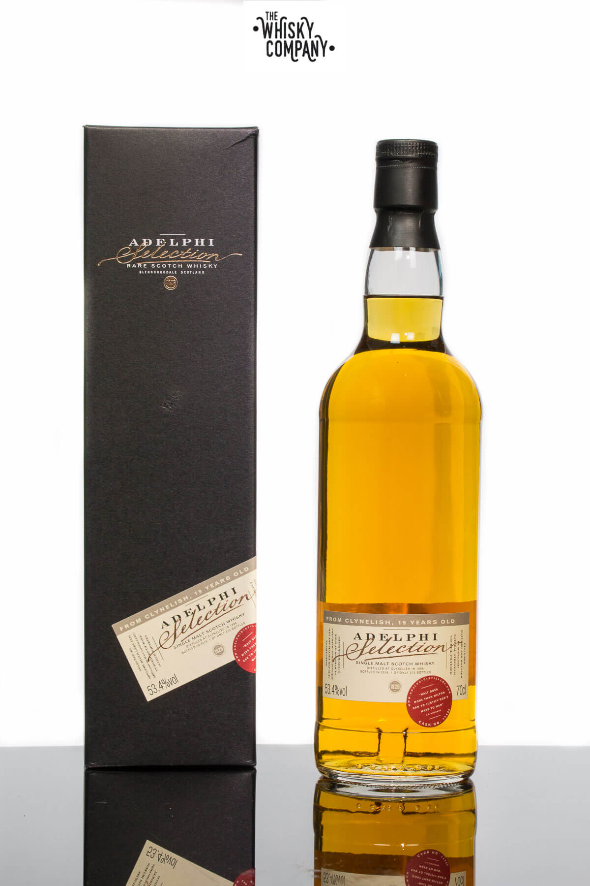 Adelphi 1996 Clynelish 19 Years Old Highland Single Malt Scotch Whisky