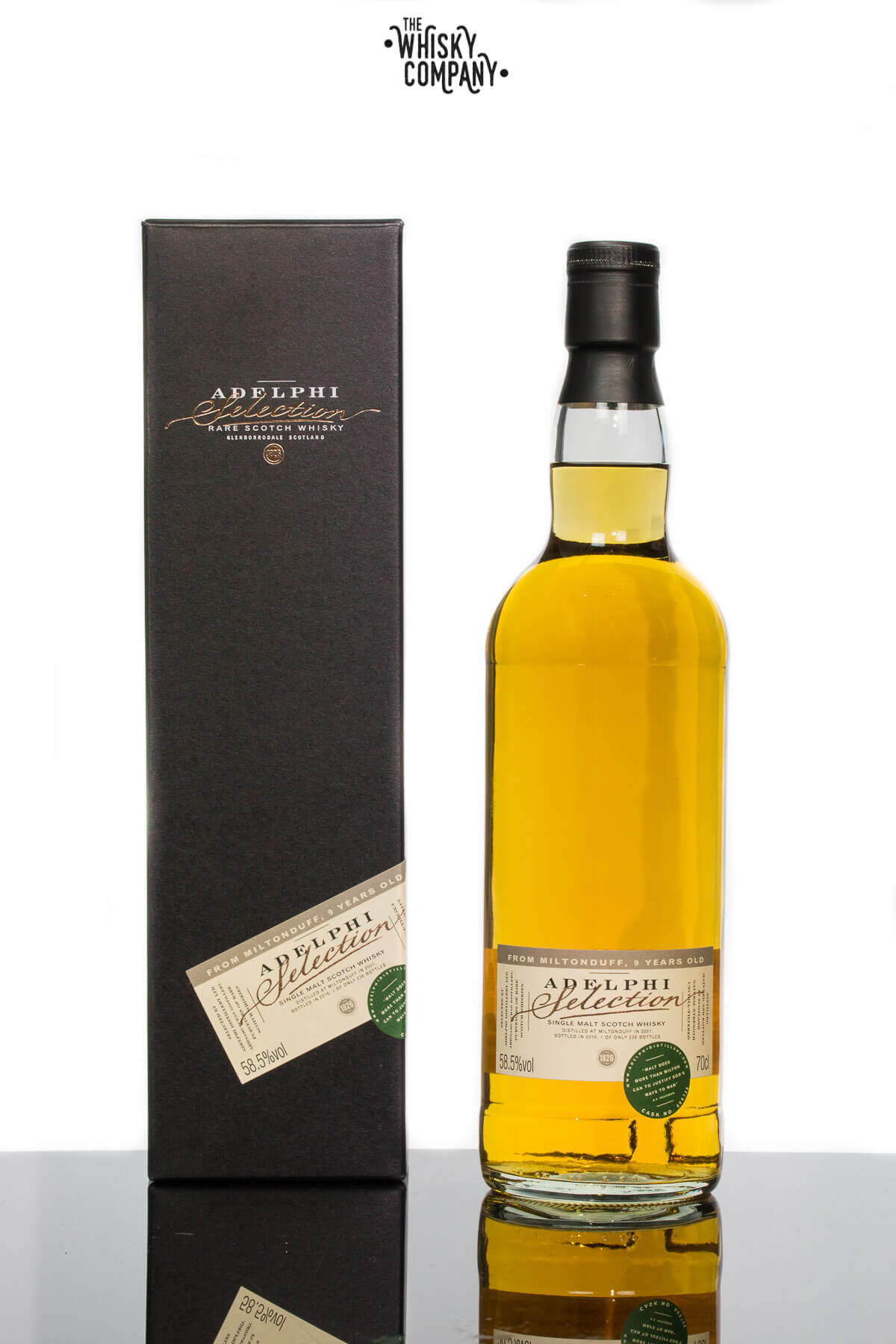 Miltonduff 9 Years Old 2007 Speyside Scotch Whisky (Adelphi) (700ml)