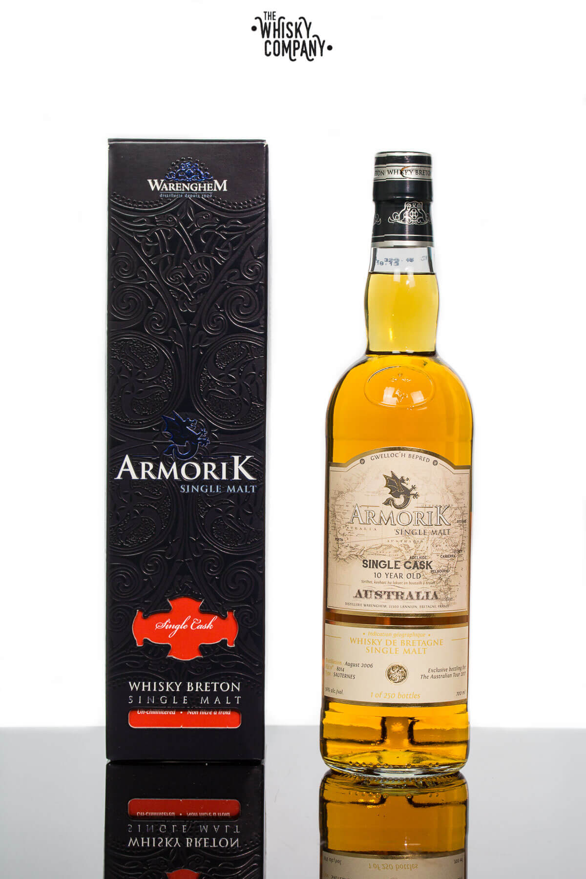Armorik 10 Years Old Sauternes Cask French Single Malt Whisky