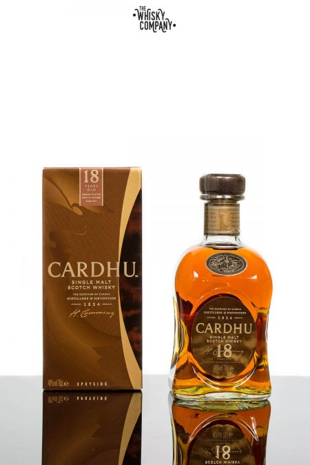 Cardhu 18 Years Old Speyside Single Malt Scotch Whisky (700ml)