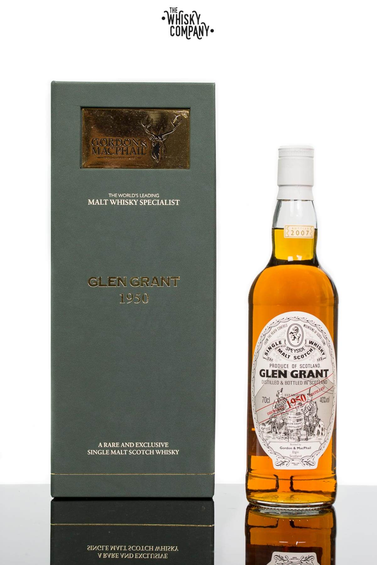 Gordon & MacPhail 1950 Glen Grant Speyside Single Malt Scotch Whisky