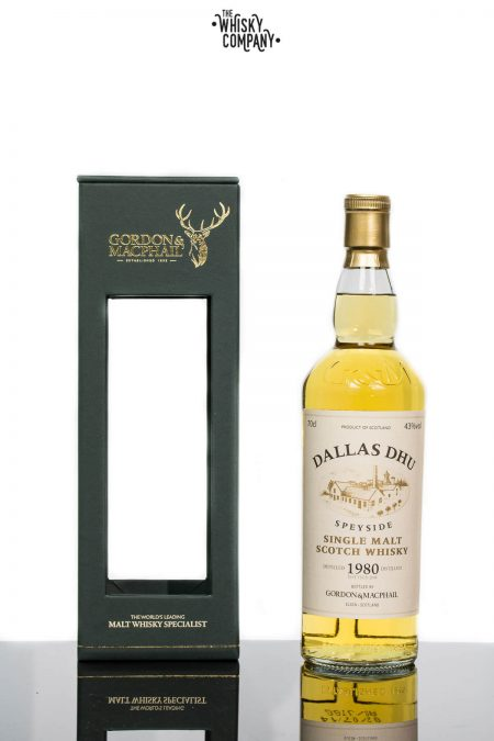 Gordon & MacPhail 1980 Dallas Dhu Speyside Single Malt Scotch Whisky
