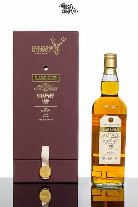 Gordon & MacPhail 1980 Port Ellen Islay Single Malt Scotch Whisky