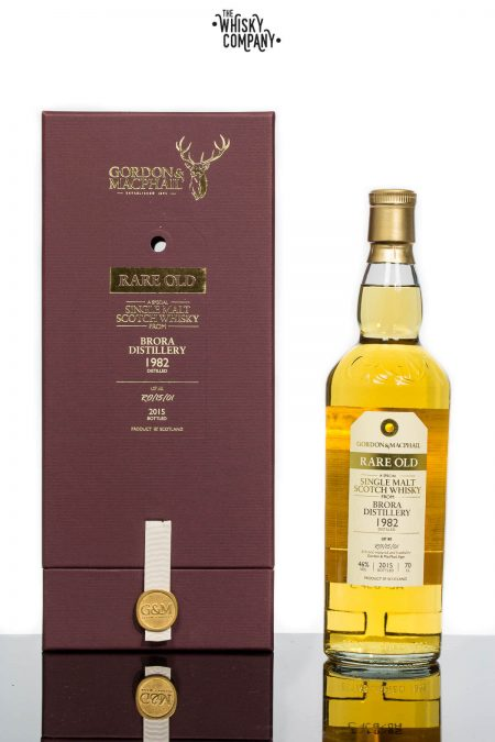 1982 Brora Highland Single Malt Scotch Whisky- Gordon & MacPhail (700ml)