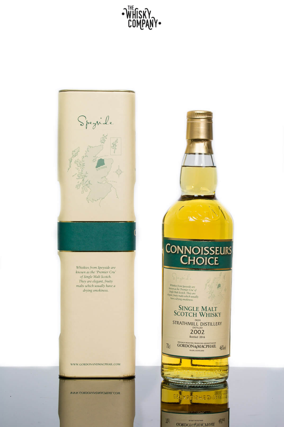 Gordon & MacPhail 2002 Strathmill Speyside Single Malt Scotch Whisky