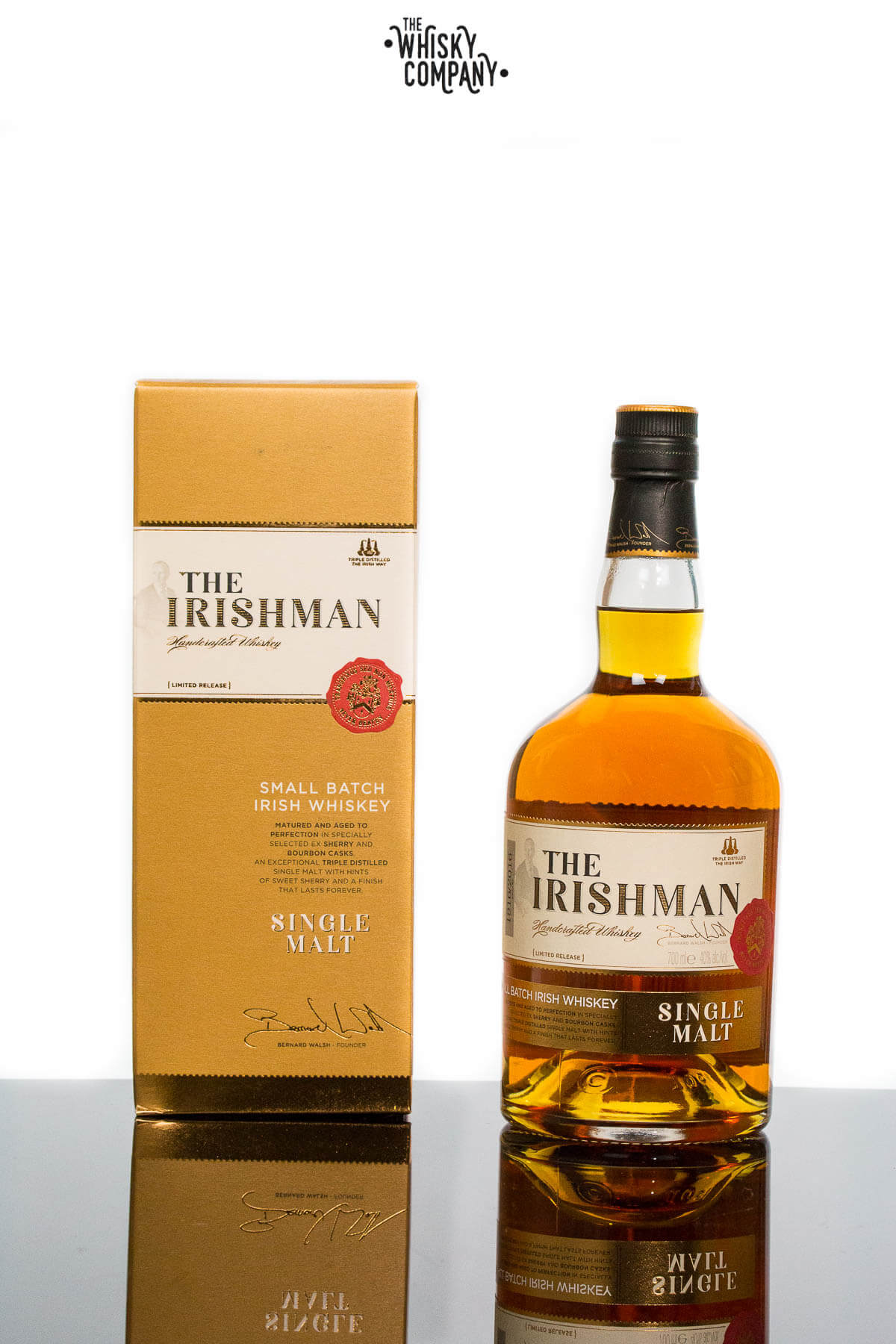 The Irishman Single Malt Irish Whiskey (700ml)