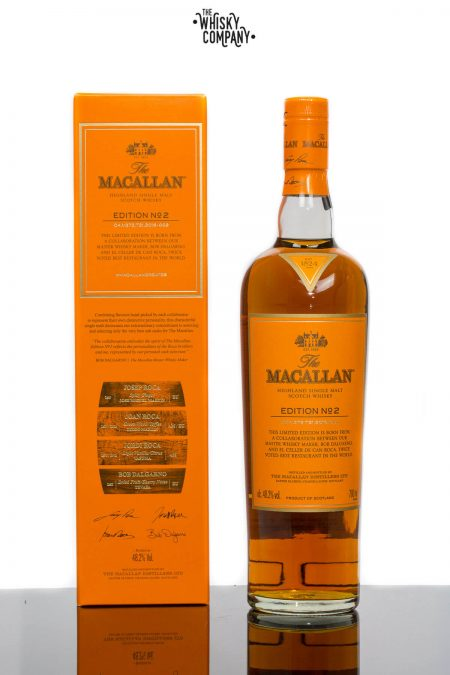 The Macallan Edition 2 Highland Single Malt Scotch Whisky (700ml)
