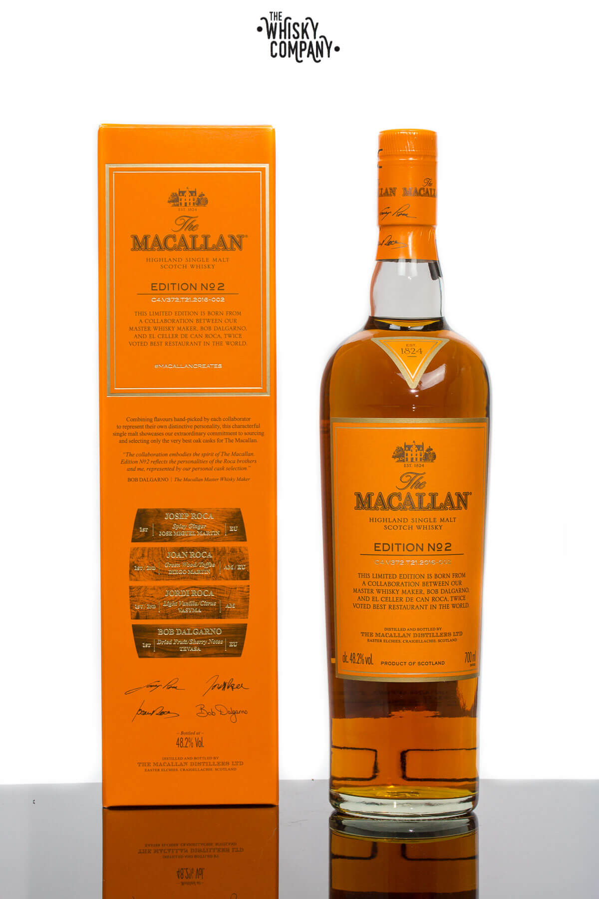 The Macallan Edition 2 Highland Single Malt Scotch Whisky (700ml)