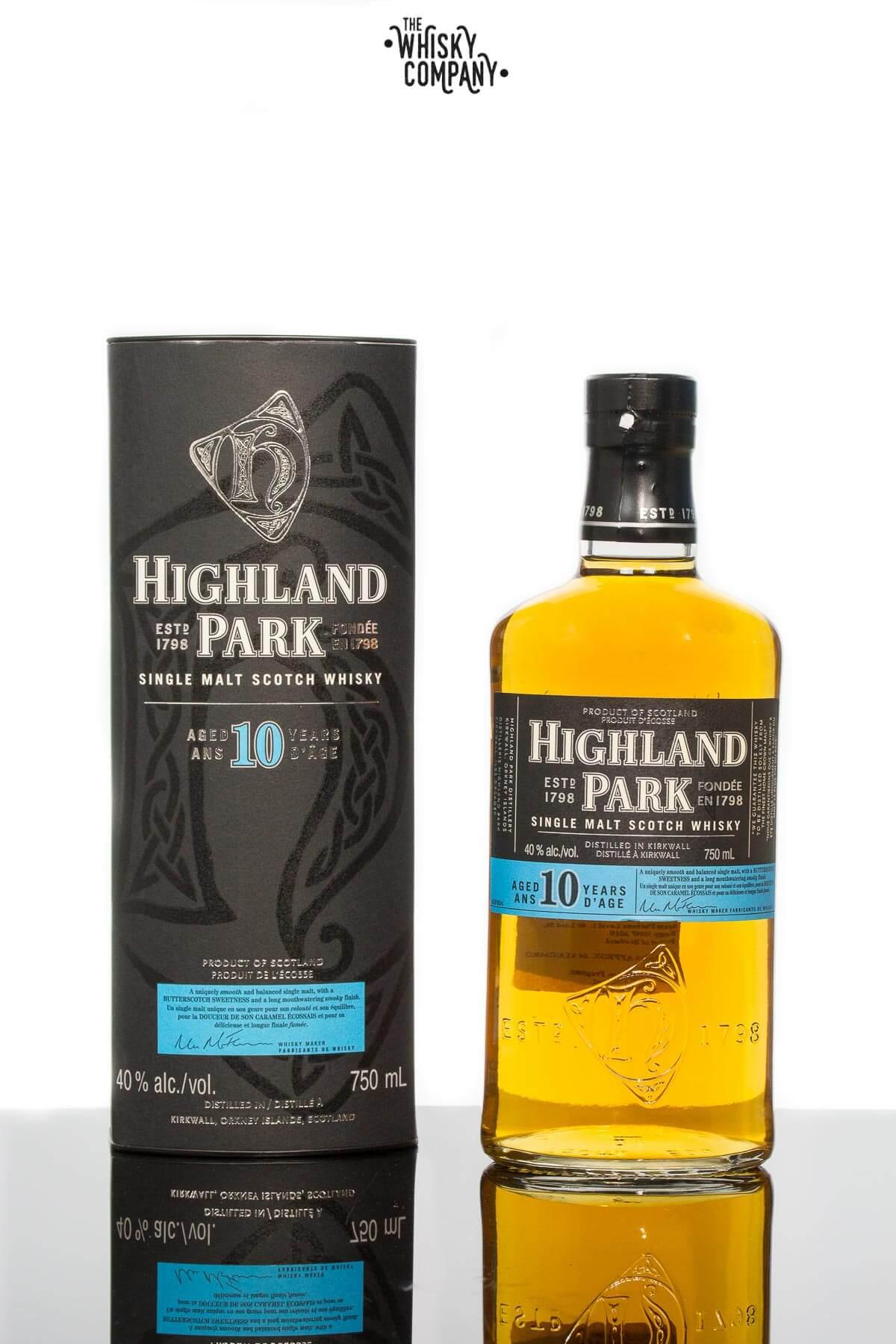 Highland Park Aged 10 Years Island Single Malt Scotch Whisky
