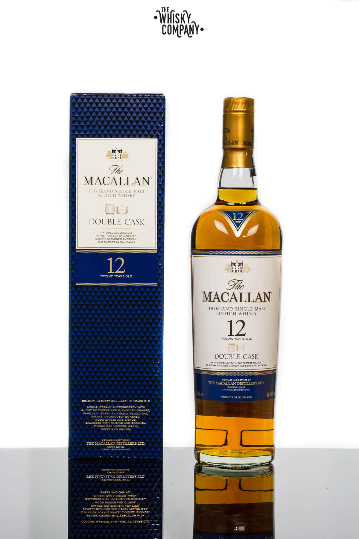 The Macallan Double Cask 12 Years Old Single Malt Scotch Whisky (700ml)