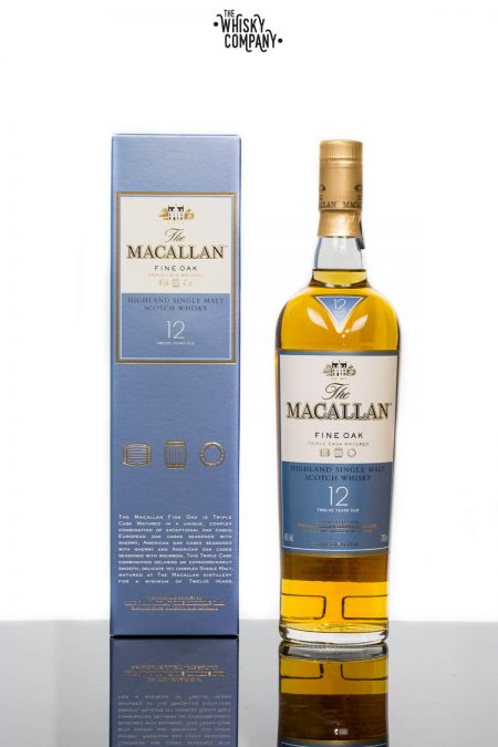 The Macallan Fine Oak 12 Years Old Single Malt Scotch Whisky (700ml)