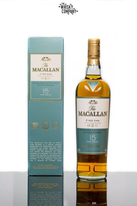 The Macallan Fine Oak 15 Years Old Single Malt Scotch Whisky (700ml)
