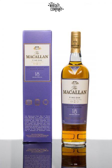 The Macallan Fine Oak 18 Years Old Single Malt Scotch Whisky (700ml)