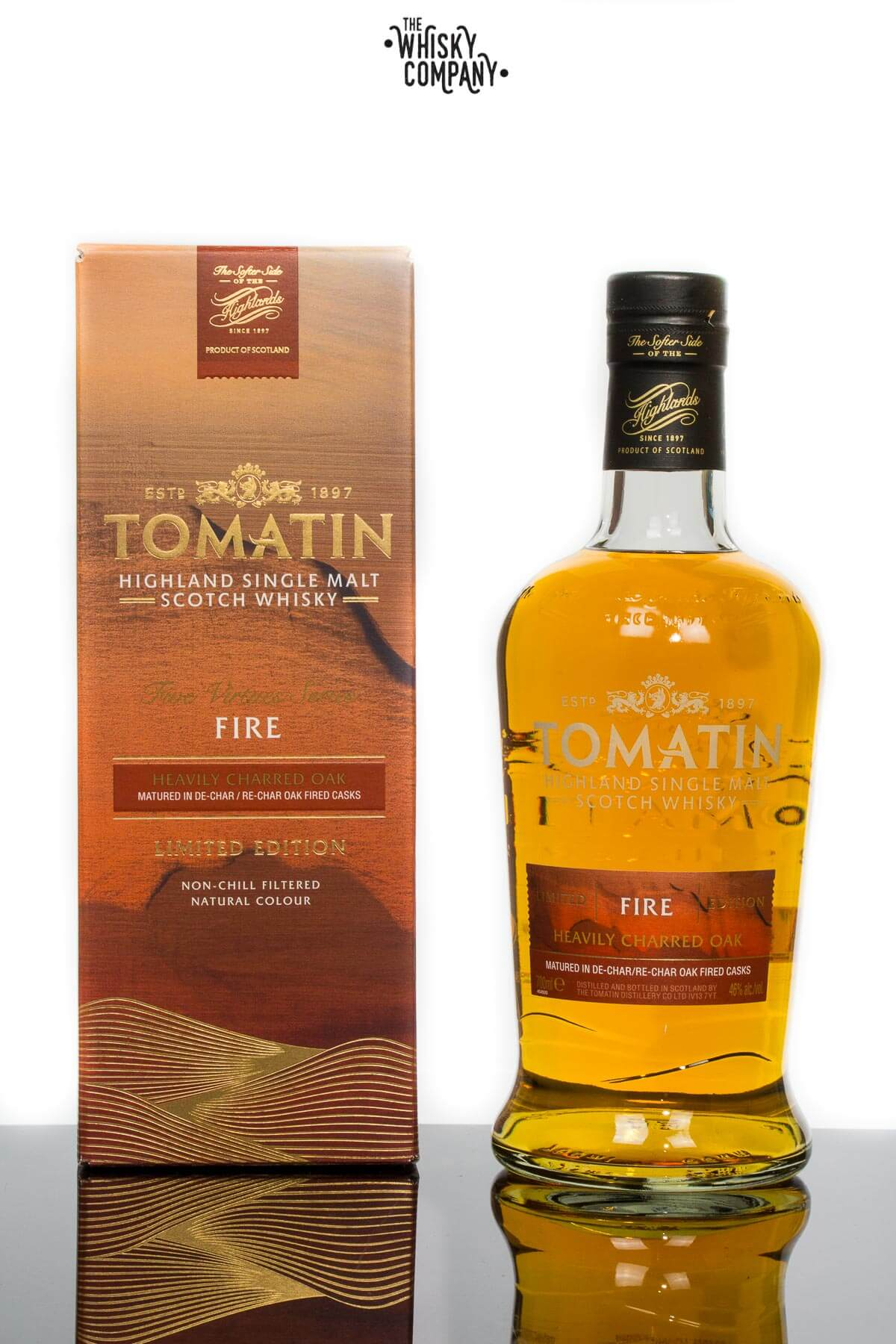 Tomatin Five Virtues Series Fire Highland Single Malt Scotch Whisky (700ml)