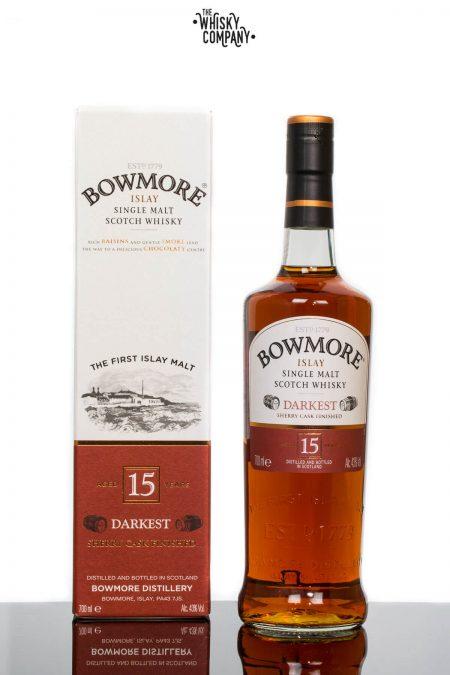 Bowmore Aged 15 Years Darkest Islay Single Malt Scotch Whisky (700ml)