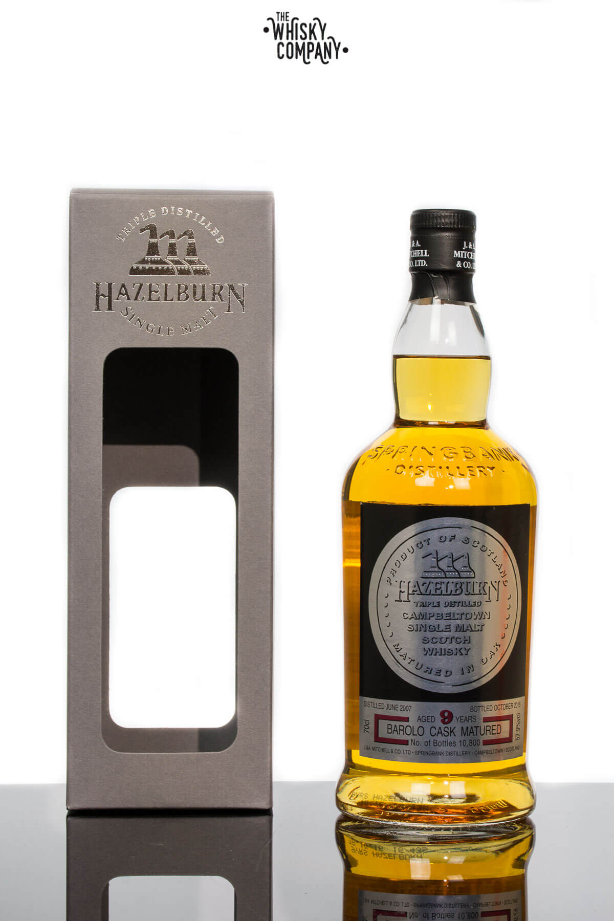 Hazelburn 2007 Aged 9 Years Barolo Cask Finish Single Malt Scotch Whisky