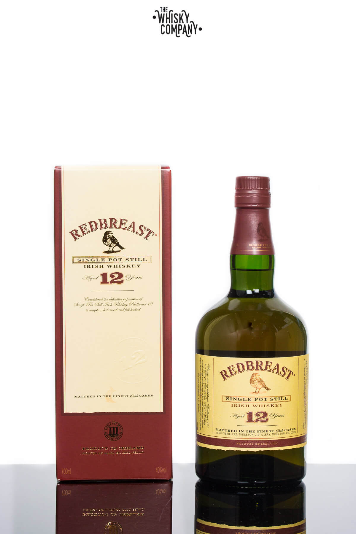 Redbreast Aged 12 Years Irish Single Pot Still Whiskey