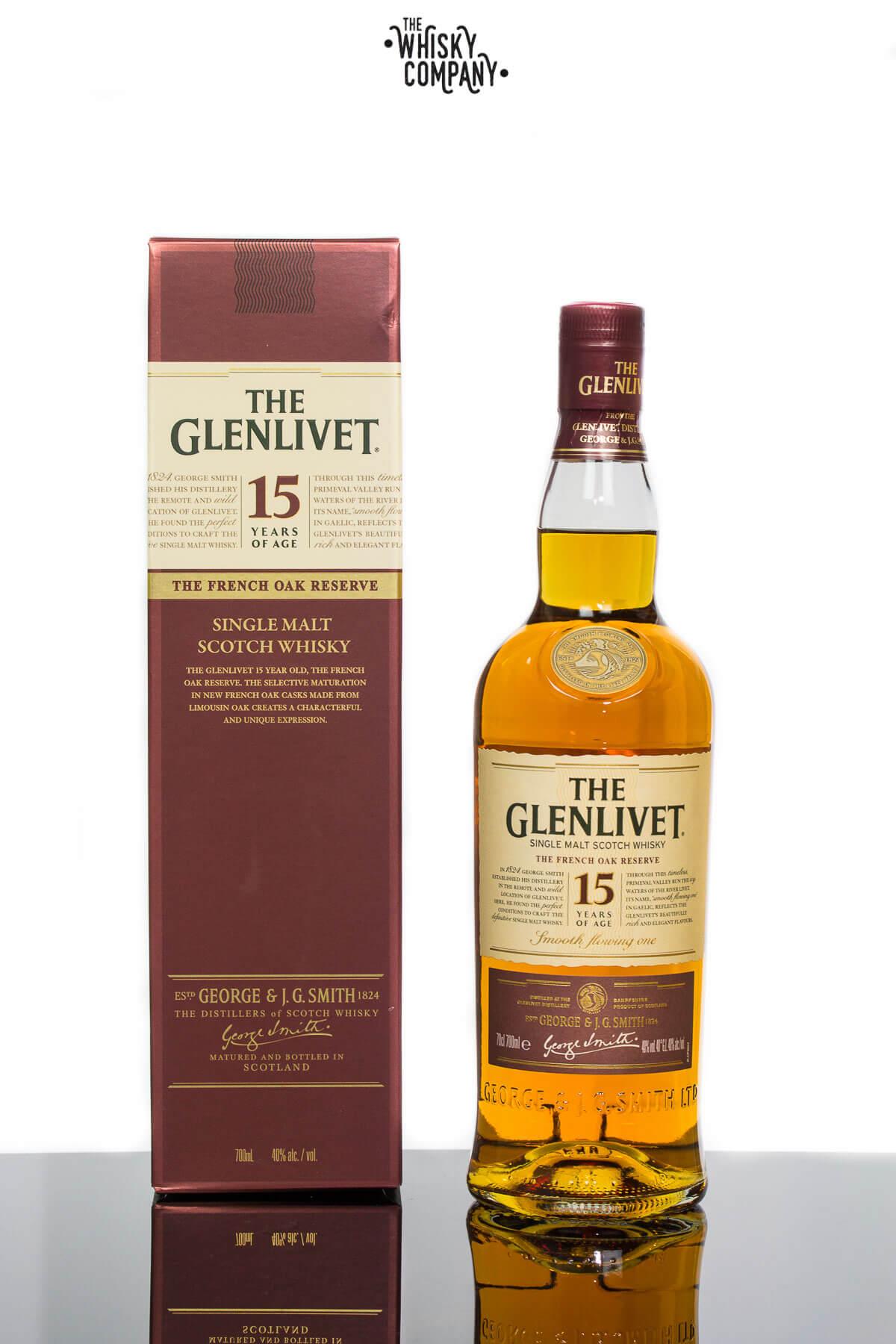 The Glenlivet 15 Year Old French Oak Reserve Single Malt Scotch Whisky