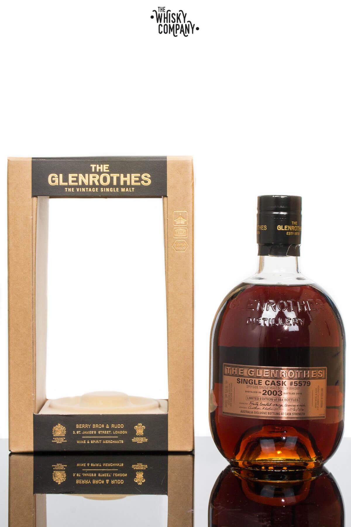 Glenrothes 2003 Single Cask #5579 Cask Strength Single Malt Scotch Whisky (700ml)