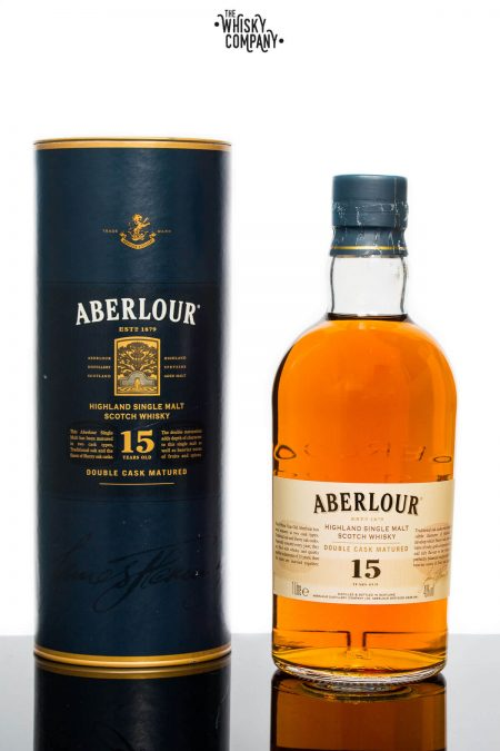 Aberlour Aged 15 Years Double Cask Matured Highland Single Malt Scotch Whisky (700ml)