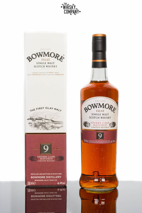 Bowmore Aged 9 Years Islay Single Malt Scotch Whisky (700ml)