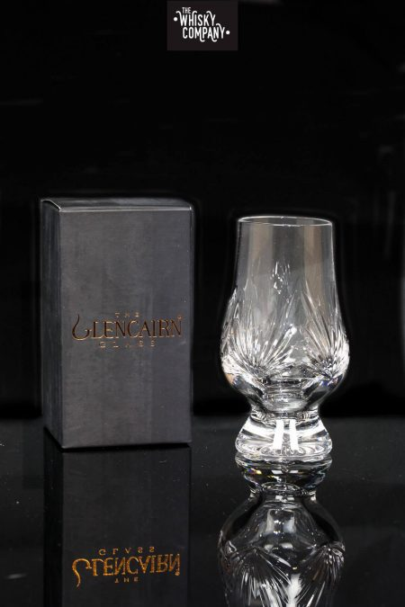 "Glencairn Cut Crystal ""Fan"" Glass In Presentation Box"