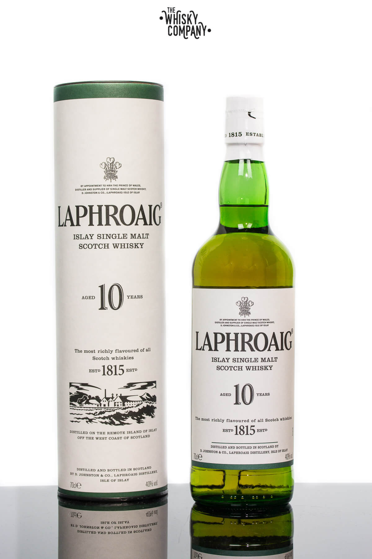 Laphroaig Aged 10 Years Islay Single Malt Scotch Whisky (700ml)