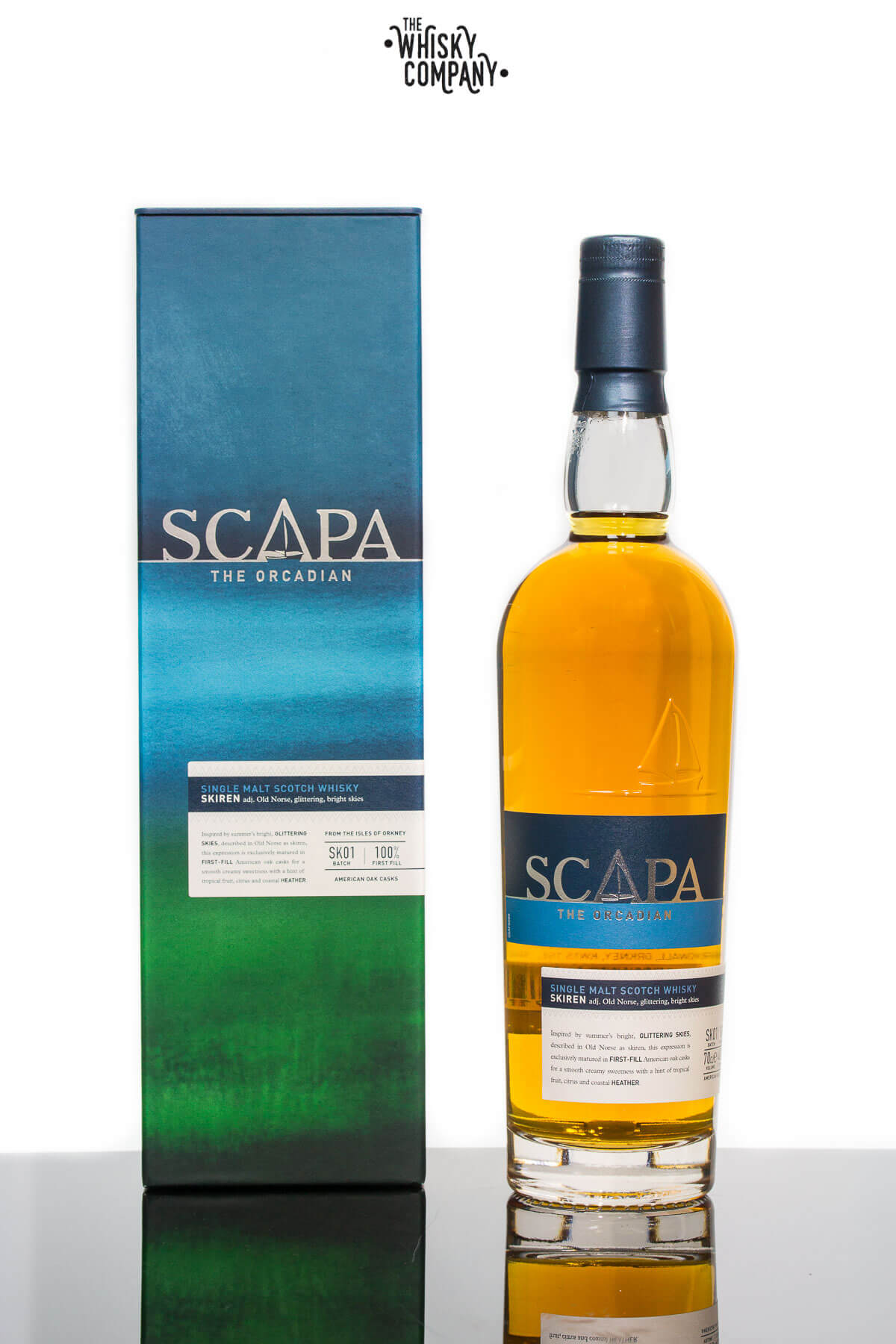 Scapa The Orcadian Skiren Island Single Malt Scotch Whisky