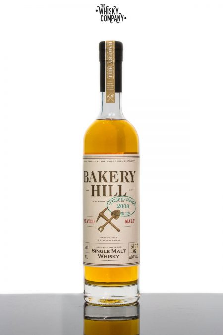 Bakery Hill 'A Wisp Of Smoke' Peated Malt Cask Strength Australian Single Malt Whisky (500ml)