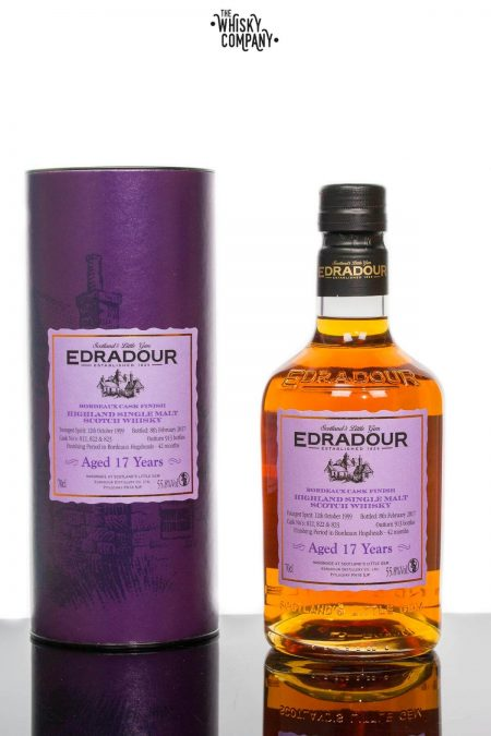 Edradour Aged 17 Years Bordeaux Cask Finish Single Malt Scotch Whisky (700ml)