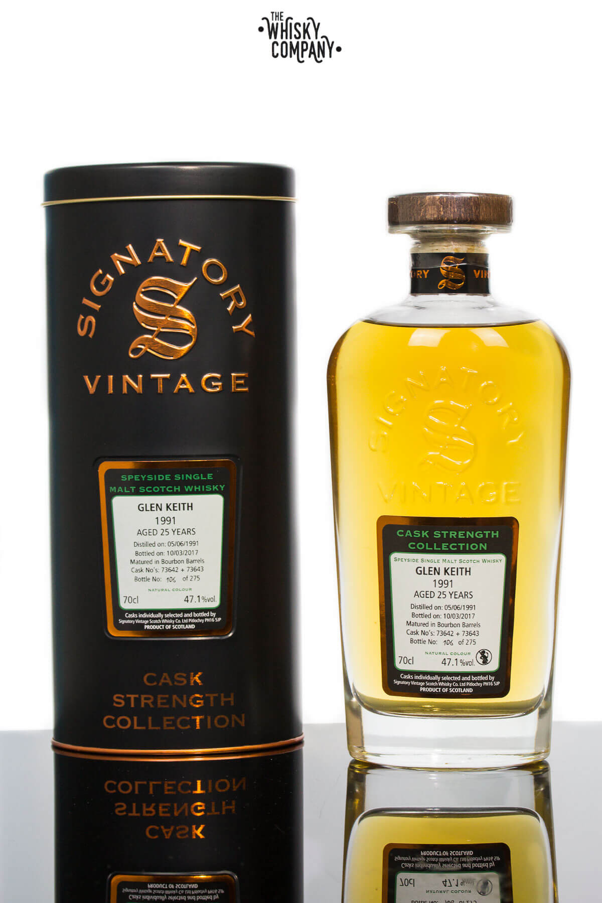 Glen Keith 1991 Aged 25 Years - Signatory Vintage