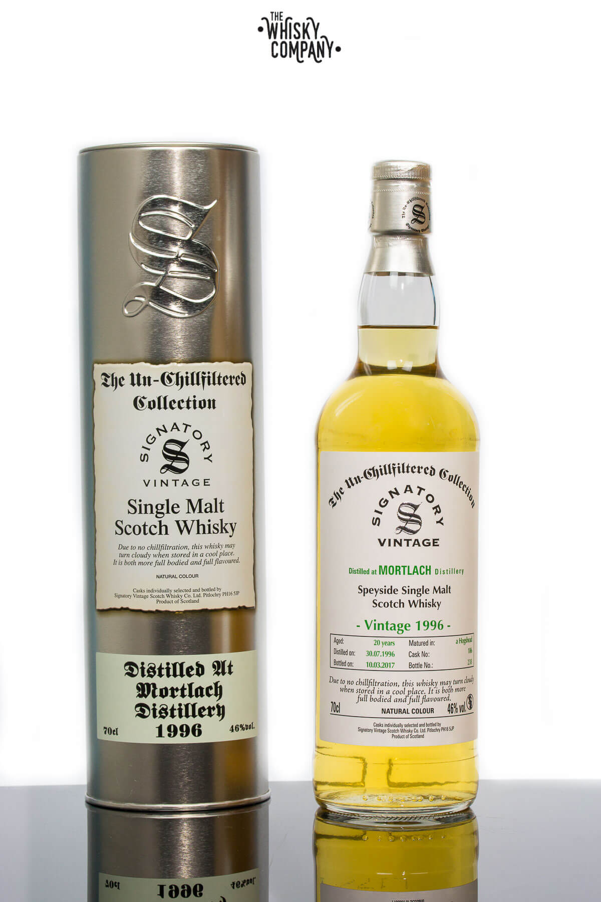 Mortlach 1996 Aged 20 Years - Signatory Vintage