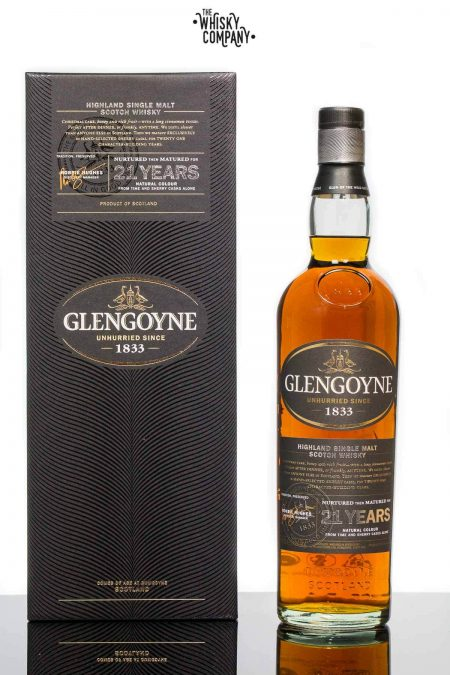 Glengoyne Aged 21 Years Highland Single Malt Scotch Whisky