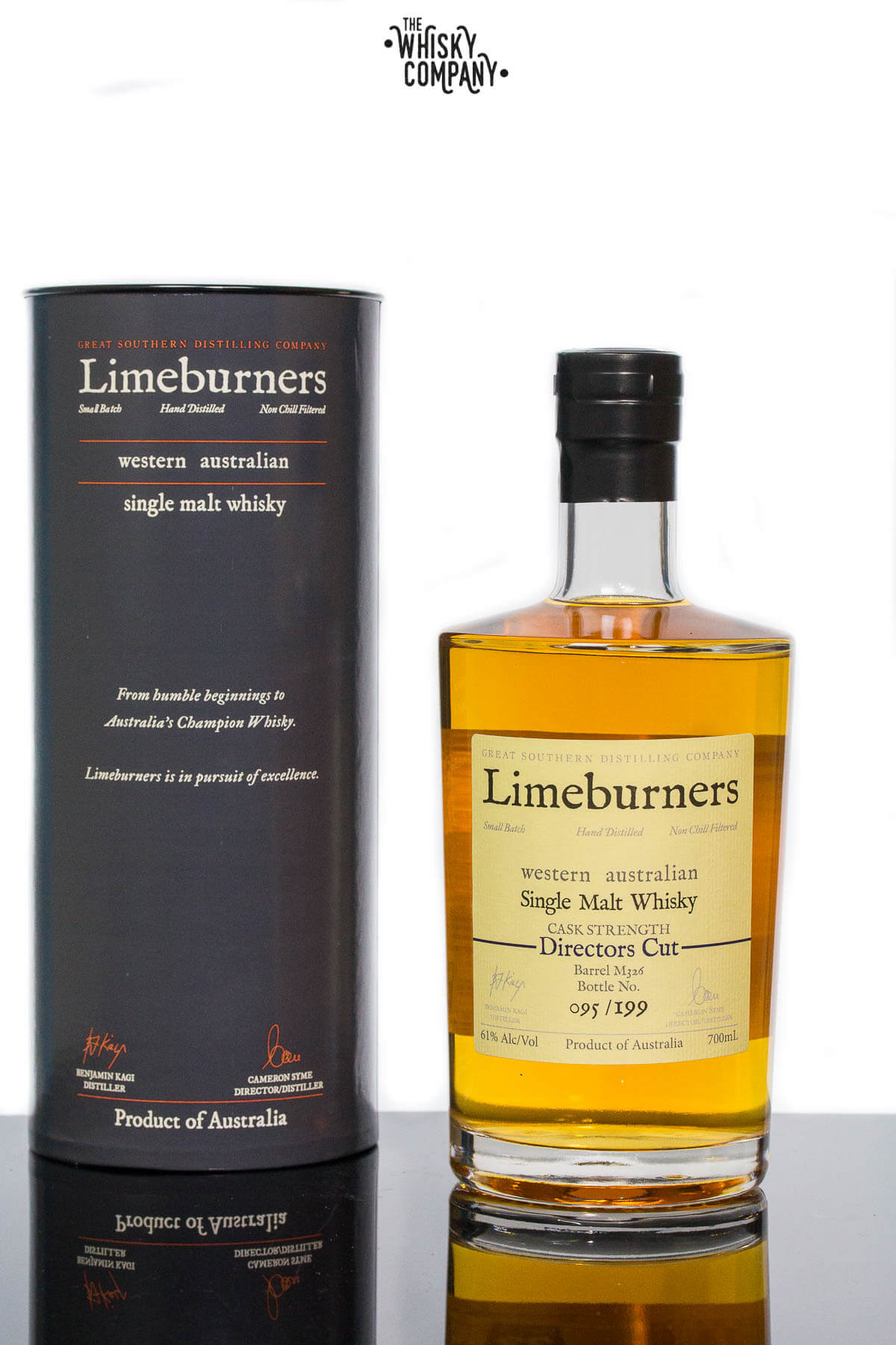 Limeburners Directors Cut M326 Cask Strength Small Batch Australian Single Malt Whisky (700ml)