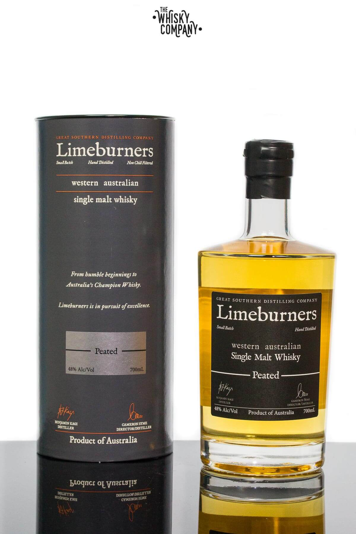 Limeburners Peated Small Batch Australian Single Malt Whisky (700ml)