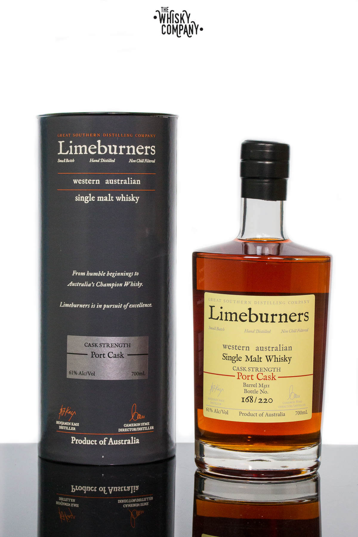 Limeburners Port Cask Strength Australian Single Malt Whisky (700ml)
