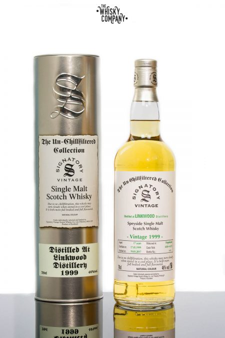 Linkwood 1999 Aged 17 Years (cask 6169 + 6172) Single Malt Scotch Whisky - Signatory Vintage (700ml)